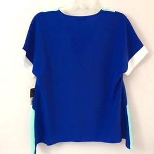 Project Runway Tops - Project Runway Colorblock V-Neck Blouse